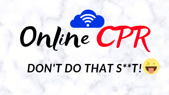 Online CPR – It's Not What You Think
